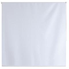 Persiana Rolô em Poliéster Blackout Nouvel 160x160cm Branca - Evolux