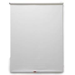 Persiana Rolô em Poliéster Solar Screen 160x140cm Branca - Evolux