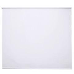 Persiana Rolô em Poliéster Toucher 140x160cm Branca - Evolux