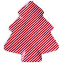 Petisqueira em Melamina Arvore Striped Xmas - Casa Etna