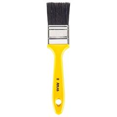 Pincel para Madeira 1.1/2'' Amarelo - Pincéis Atlas