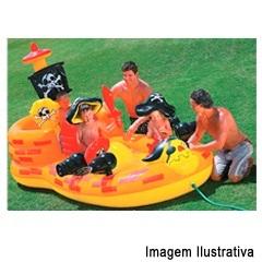 Piscina Playcenter Esconderijo Pirata 248 Litros Ref. 57457 - Intex