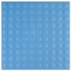 Piso Brilhante Oceanic Star Sky Blue 20x20cm - Incepa