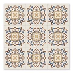 Piso Cerâmico Acetinado Borda Bold Oxford Vintage 60x60cm - Biancogres