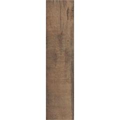 Piso Cerâmico Borda Reta Rústico Extint Marrom 20,2x86,5cm - Ceusa