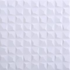 Piso Cerâmico Brilhante Borda Bold Blank 25x25cm - Porto Ferreira