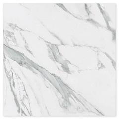 Piso Cerâmico Brilhante Borda Bold Pleno Branco 61x61cm