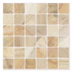Piso Cerâmico Hd Borda Bold Mazar Bege 61x61cm - Star Golden