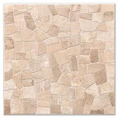 Piso Cerâmico Hd Rústico Borda Bold Mosaico Marron 53x53cm - Carmelo Fior