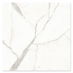 Piso Cerâmico Polido Borda Reta Venezia Branco 74x74cm - Fioranno