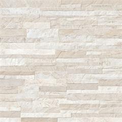Piso Cerâmico Relevo Acetinado Borda Bold Calli White Plus 62x62cm