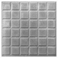 Piso Cimentício Rústico Antiderrapante Borda Reta 36 Quadros Suvial Cinza 30x30cm - Cimartex