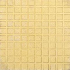 Piso Cimentício Rústico Borda Reta Status 100 Quadros Amarelo 32x32cm - Cimartex