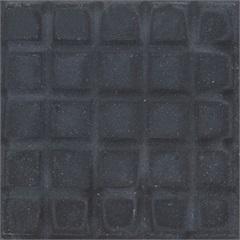 Piso Cimentício Rústico Borda Reta Suvial 25 Quadros Preto 20x20cm - Cimartex