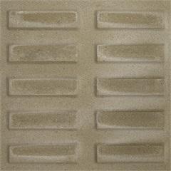 Piso Cimentício Rústico Borda Reta Suvial Rampa Filete Cinza 20x20cm - Cimartex