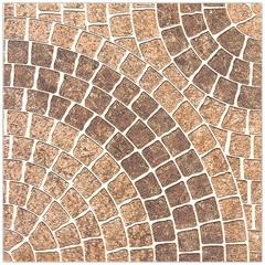 Piso Planeta Esmaltado Baixo Brilho Marrom 45x45cm
