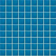 Piso Urbano Anis Brilhante Azul Escuro 9,5x9,5cm - Portobello