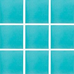 Piso Urbano Marine Brilhante Azul Claro 9,5x9,5cm - Portobello