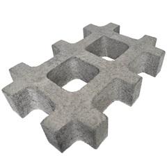 Pisograma Cimentício Concregrama 30x45cm Natural - Oterprem