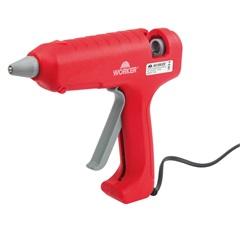 Pistola de Cola Quente 80w 110v / 220v Vermelho - Worker