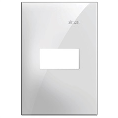 Placa 4x2 1 Posto Horizontal Simon 35 Branco - Simon