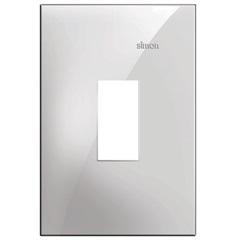 Placa 4x2 1 Posto Vertical Simon 35 Branco - Simon