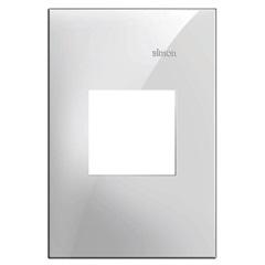 Placa 4x2 2 Postos Horizontais Simon 35 Branco - Simon