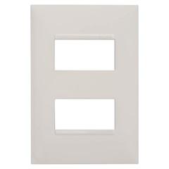 Placa 4x2 2 Postos Separados Plusmais Branca - Pial Legrand