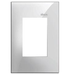 Placa 4x2 3 Postos Horizontais Simon 35 Branco - Simon