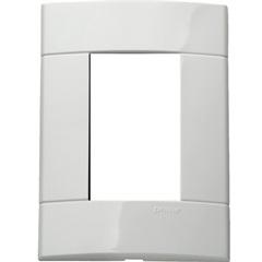 Placa 4x2 Branco para 3 Posto Decor  - Schneider