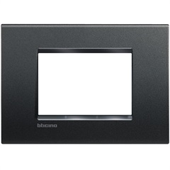 Placa 4x2 Living & Light Anthracite - BTicino