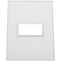 Placa 4x2 para 1 Posto Arteor Mirror White  - Pial Legrand