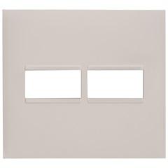 Placa 4x4 1+1 Posto Plusmais Branca - Pial Legrand