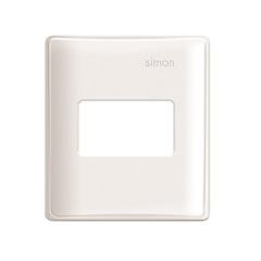 Placa 4x4 1 Módulo para Caixa de Sobrepor Simon 19 Branca - Simon