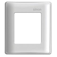 Placa 4x4 2 Módulos para Caixa de Sobrepor Simon 19 Branca - Simon