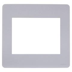 Placa 4x4 com 6 Postos Orion Gamma Silver - Schneider