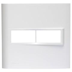 Placa 4x4 para 2 Módulos Tecla Simples Branco Vivace - Siemens