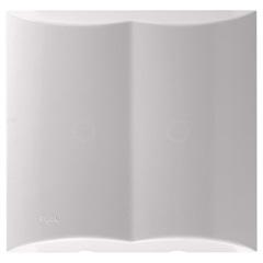 Placa Cega com Pré Corte 4x4 Brava Branca - Iriel