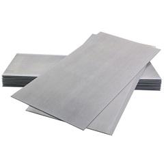Placa Cimentícia Borda Quadrada 120x240cm Cinza - Brasilit