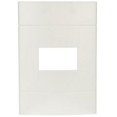 Placa com 1 Posto 4''X2'' Lunare Branca - Schneider