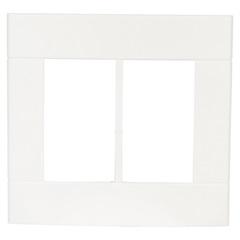 Placa com 6 Postos 4x4 Lunare Branca - Schneider