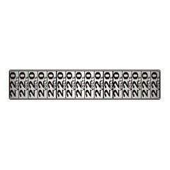 Placa de Alumínio 5x25cm Ref. 100cp - Sinalize