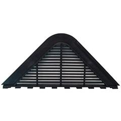 Placa de Ventilação para Telha Maxiplac E Etermax com 1 Peça Preta - Fixtil