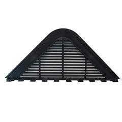 Placa de Ventilação para Telha Maxiplac E Etermax Preto 4 Peças - Fixtil