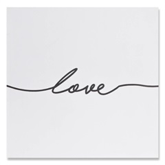 Placa Decorativa em Madeira Lovely 20cm Love - Casa Etna