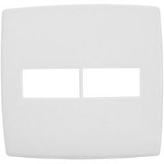 Placa para 1 + 1 Postos 4x4 Pialplus Branca - Pial Legrand