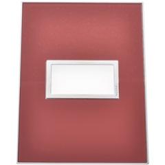 Placa para 1 Posto Arteor Mirror Red 4x2  - Pial Legrand