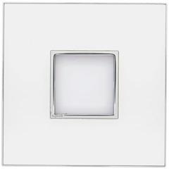Placa para 2 Postos Arteor Mirror White 4x4 - Pial Legrand