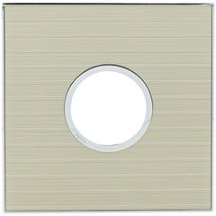 Placa para 2 Postos Redonda Arteor Mirror Casual 4x4 - Pial Legrand