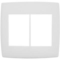 Placa para 3 + 3 Postos 4x4 Pialplus Branca - Pial Legrand